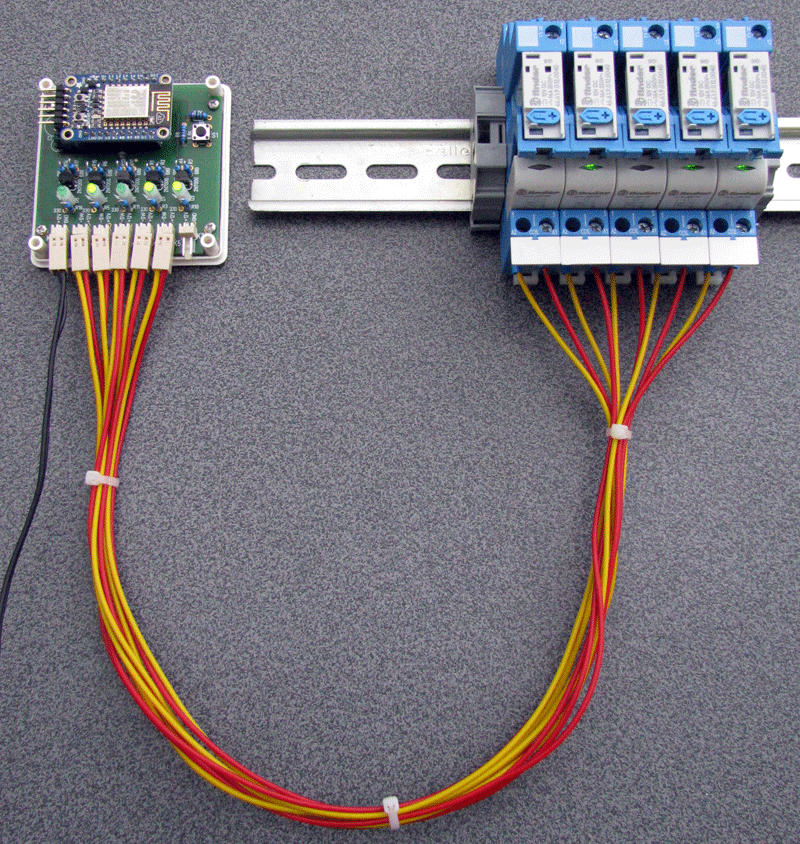 MultiSwitch mit Relais-Verkabelung